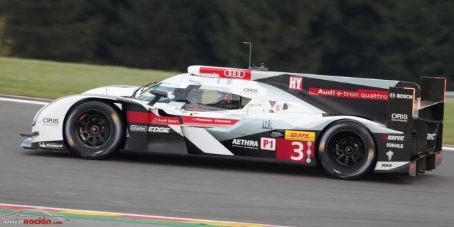 El Audi R18 e-tron quattro estrena un traje aerodinámico para Le Mans