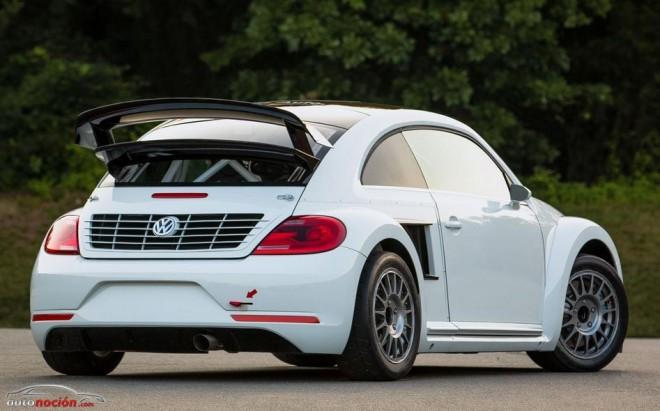 Volkswagen Beetle GRC: 550 cv para el Red Bull Global Rallycross