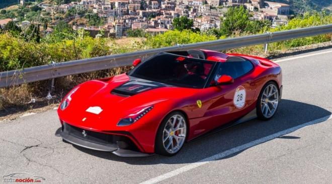 Ferrari TRS F12: Diseño exclusivo y 340 km/h de punta por algo más de 3 millones de euros
