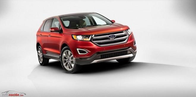 Así es el Ford Edge: Disponible en Europa a partir de 2015