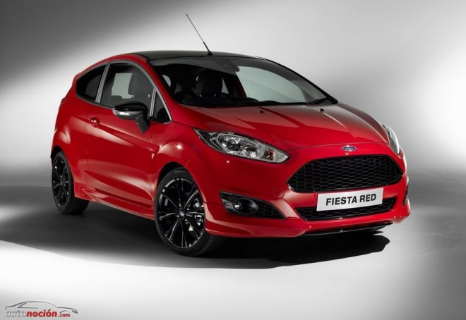 Ford Fiesta red Ecoboost 140 cv