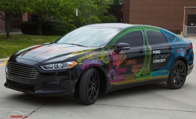 Ford nos muestra el Lightweight Concept: Un Mondeo con el peso de un Fiesta…