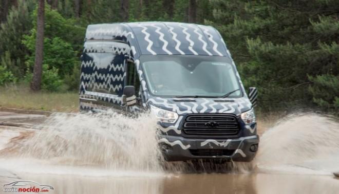 La nueva Ford Transit promete resistir a 10 años de uso diario sin despeinarse