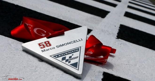 Simoncelli, reconocido como MotoGP Legend