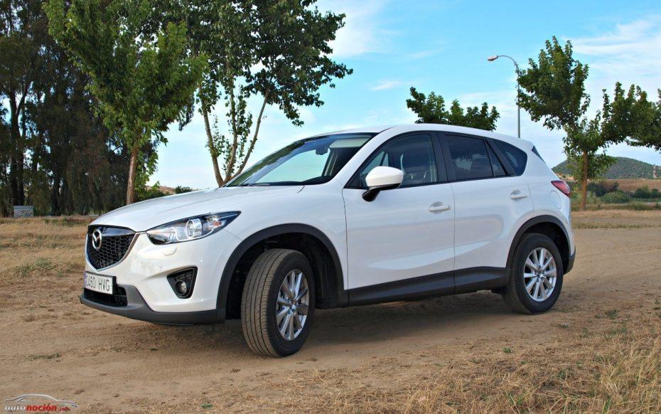 Prueba Mazda CX-5 SKYACTIV-G 2.0 165 cv: Elegancia probada