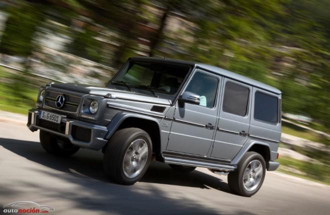La futura Clase G de Mercedes-Benz podría recortar su peso en más de 350 kg