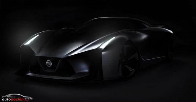 Nissan Vision Gran Turismo: Un primer vistazo de lo que parece ser un GT-R del futuro