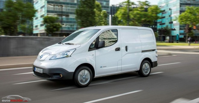 La furgoneta eléctrica Nissan e-NV200: 170 km de autonomía desde 13.665 euros