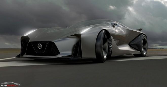El futuro de los superdeportivos de Nissan: Concept Vision 2020 Gran Turismo