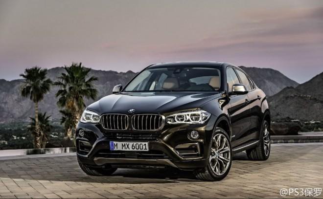 Filtradas las primeras imágenes del nuevo BMW X6