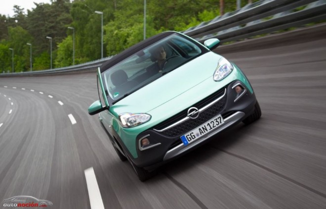 Opel Adam Rocks: Un utilitario con espirutu aventurero