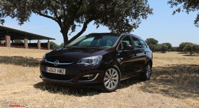 Prueba Opel Astra Sports Tourer 1.6 CDTI 110 cv Excellence: Familia y consumos bajo el mismo techo