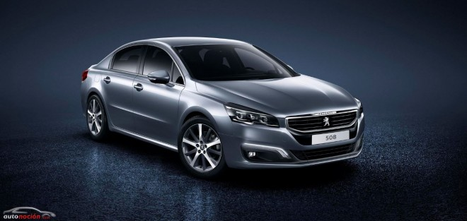 El renovado Peugeot 508 llegará en Septiembre: Nuevos motores, estética y equipamiento