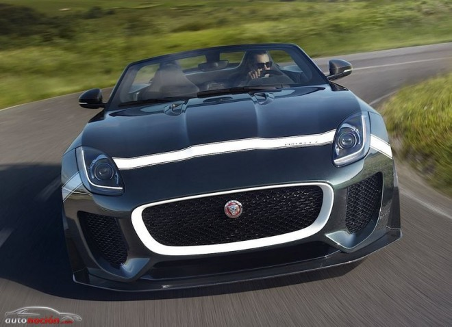 Jaguar F-type Project 7: 300 km/h de punta para las 250 unidades más exclusivas