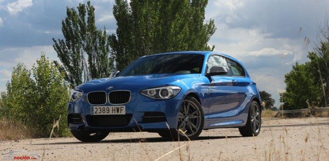 Prueba M135i: 320 cv y 450 Nm de músculo alemán entrenado por BMW M