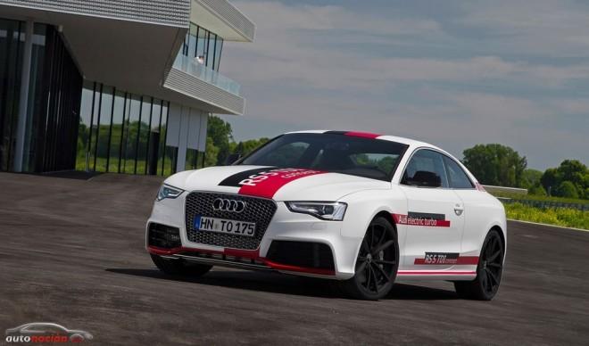 Audi RS 5 TDI concept: La revolución del TDI llegará con el turbocompresor eléctrico
