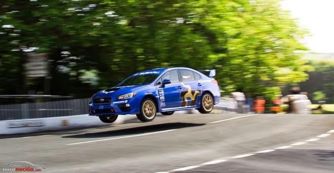 El Subaru WRX STI bate por tercera vez el récord en la Isla de Man