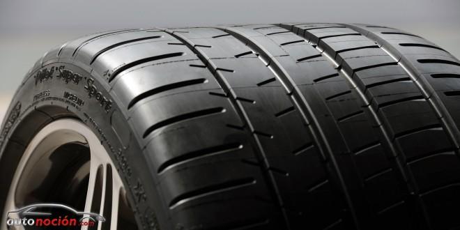 ¿Cómo tiene que ser el neumático de un coche que pasa de los 300 km/h?: MICHELIN Pilot Super Sport