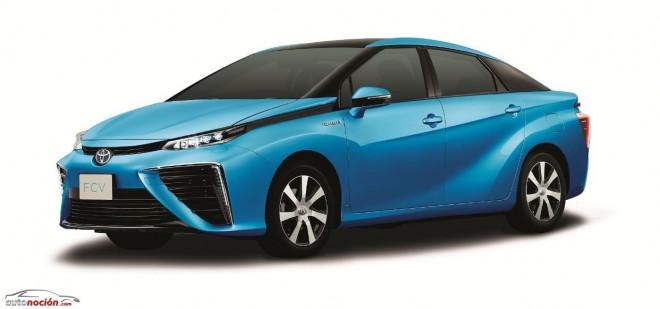 Toyota FCV: El sedán con pila de hidrógeno llegará en verano de 2015