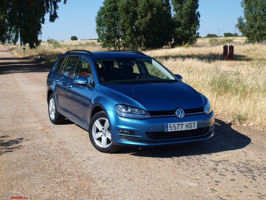 Prueba del Volkswagen Golf Variant 1.6 TDI 105 CV: Espacioso y poco bebedor