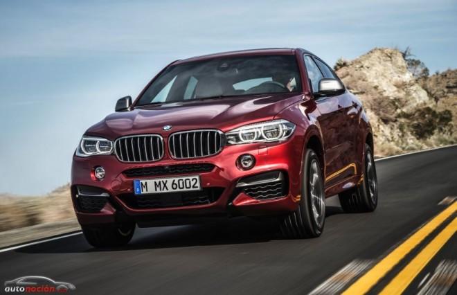 BMW X6 M50d: La mano de M vuelve a estar presente en un SUV con 381 cv y 740 Nm de par