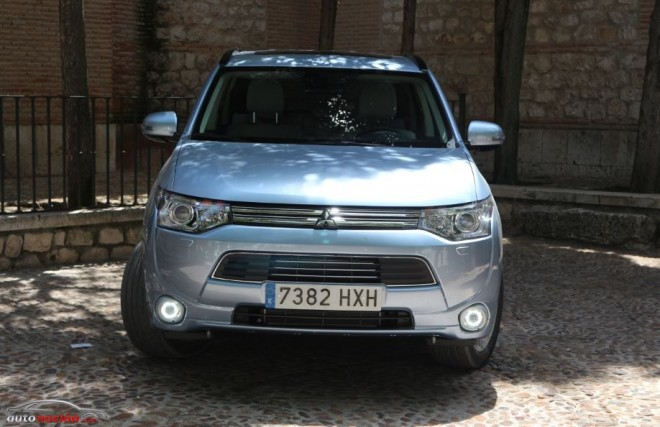 frontal outlander phev