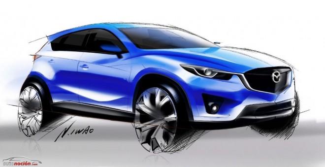 Mazda podría completar su familia SUV con el pequeño CX-3