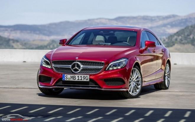 Así es el renovado Mercedes-Benz CLS 2014: Cambios sutiles que afinan al modelo