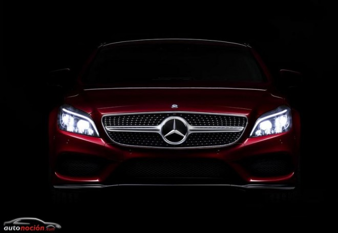 El renovado Mercedes-Benz CLS montará la novedosa iluminación MULTIBEAM LED