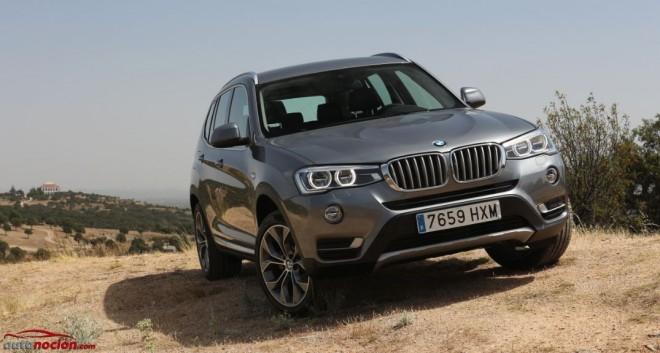 Prueba BMW X3 xDrive20d xLine: Polivalencia germana en tamaño medio