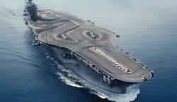 Circuito de careras BMW en portaaviones