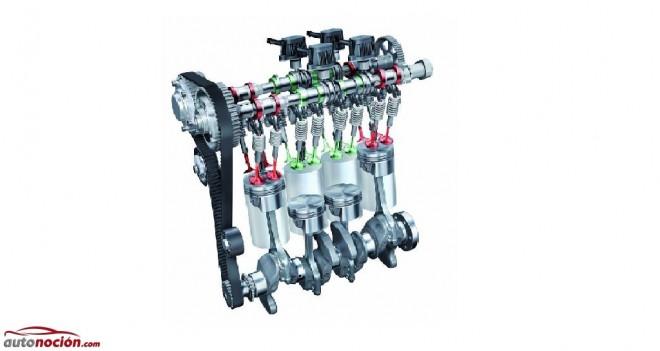 Motores de tres cilindros que funcionaran como bicilíndricos gracias a la tecnología COD