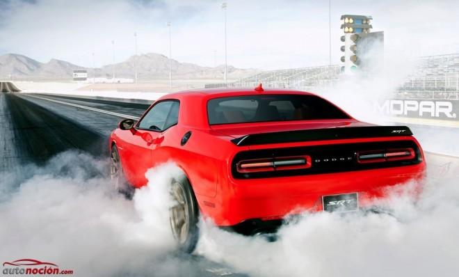 Dodge Challenger SRT Hellcat: El Muscle Car más potente cuenta con 717 cv bajo el capó