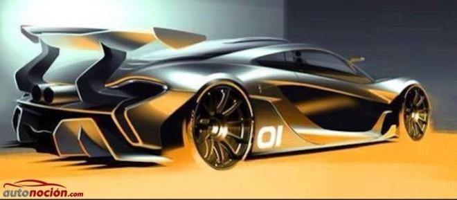 Primer render del McLaren P1 GTR: El P1 más radical…