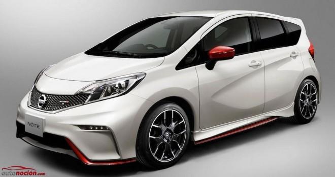 Nissan revela el aspecto del Nissan Note NISMO