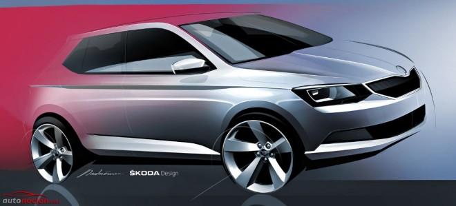 Primeros bocetos de la próxima generación del Škoda Fabia