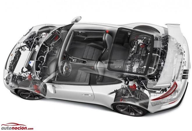 Al detalle: El motor de un Porsche 911 GT3 y las 9.000 rpm previas al infarto…