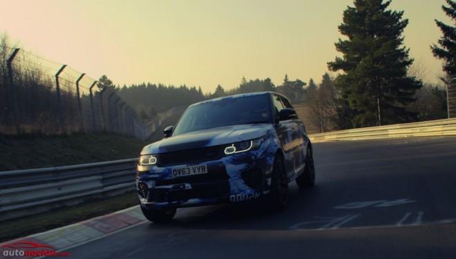 Con un V8 de 5.0 y 550 cv, el Range Rover Sport SVR se convierte en el SUV más rápido de Nürburgring