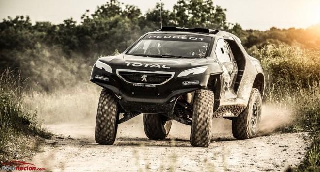 Nuevos detalles del Peugeot 2008 DKR: ¿Una Bestia para el Dakar con un V6 diésel y 2WD?