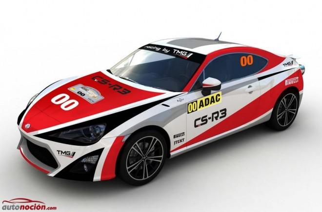 El Toyota GT86 CS-R3 debutará en alemania: ¿Vuelta al las raíces de Rally?