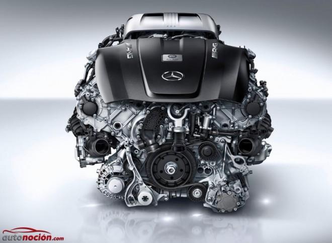 Al detalle: El nuevo motor V8 biturbo de 4.0 litros que se montará en el Mercedes-AMG GT