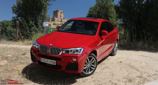 Prueba BMW X4 xDrive30d Paquete M: Estética SUV, diseño coupé y dinámica deportiva a la vez