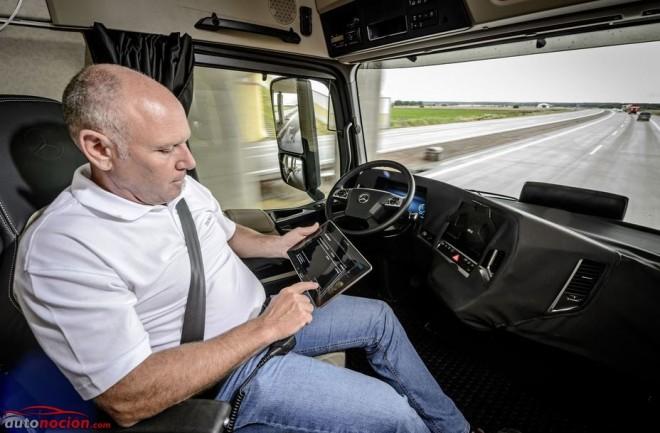¿Son los camioneros una especie en peligro de extinción?: El camión autónomo podría modificar la profesión