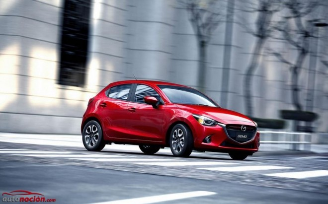 Nuevo Mazda2: Motorizaciones SKYACTIV de 75 a 115 cv