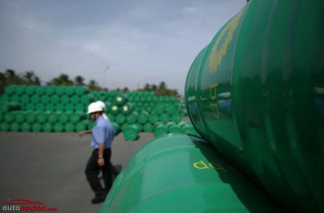 petróleo en barriles