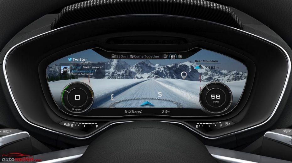 El virtual cockpit se extiende como la pólvora: R8, TT, Q7, A4 y Passat entre los primero, Golf y A3 entre los candidatos…