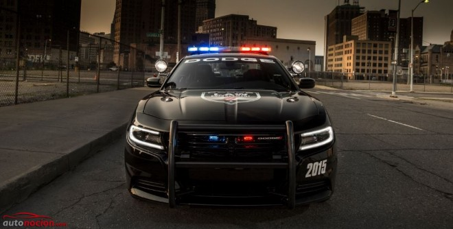 Dodge Charger Pursuit: Hasta 375 cv para perseguir a los malos en USA…