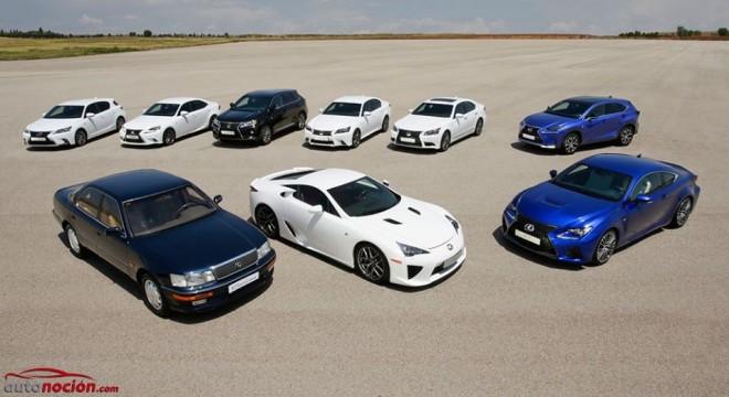 El cuarto de siglo de vida de Lexus