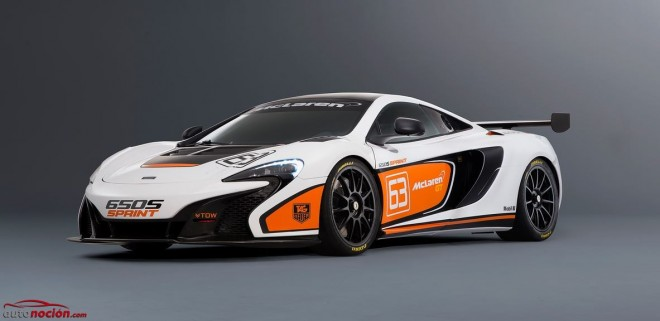 McLaren 650S Sprint: De la calle a la pista desde 248.293 euros