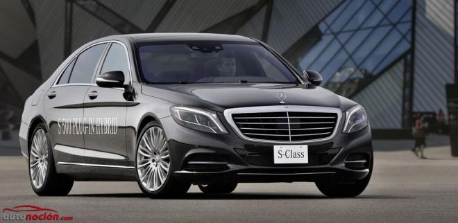 Mercedes-Benz S500 PLUG-IN HYBRID: 2,8 l/100km, 442 CV, 650 Nm de par desde 112.200 euros